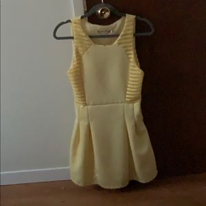 🔥 Yellow Event Dress